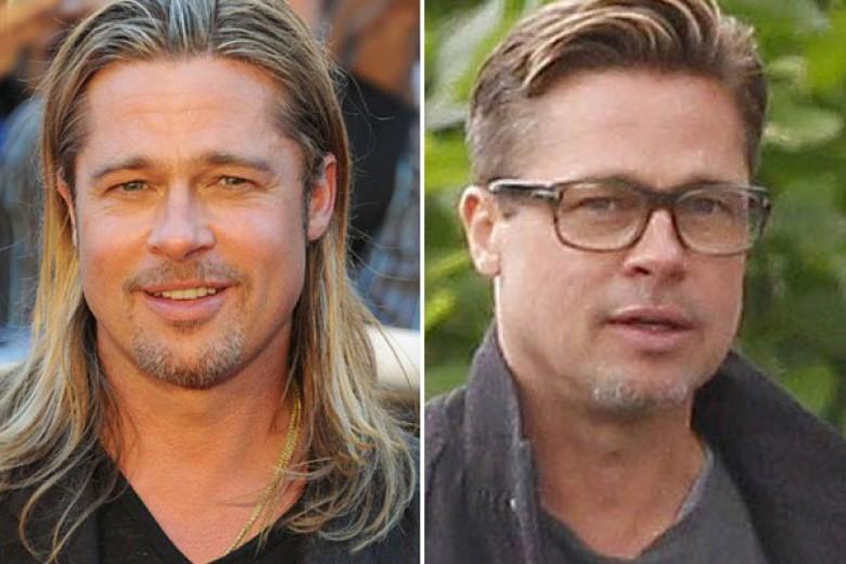 Penampilan Baru Brad Pitt