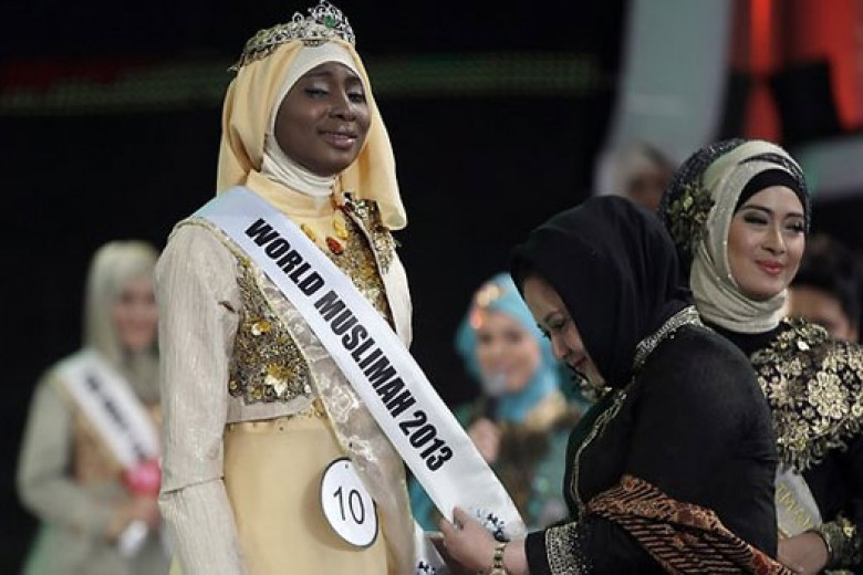 Miss Muslimah World VS Miss World