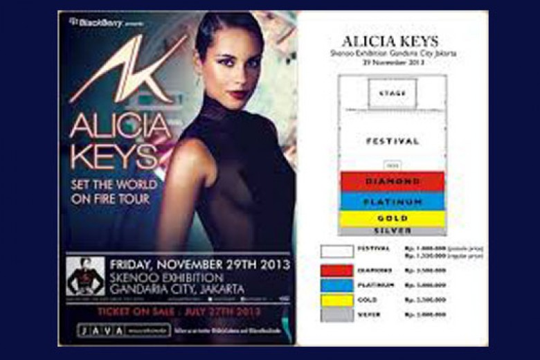 Alicia Keys 'Set The World on Fire Tour'