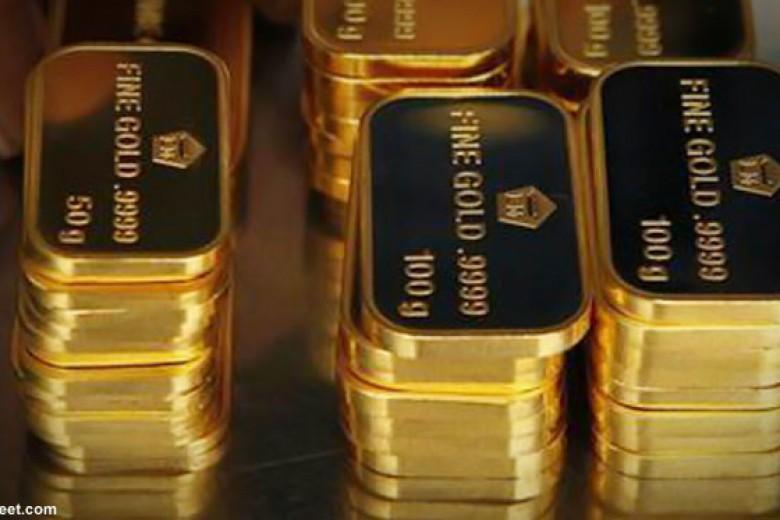 Emas Antam Kamis Turun Lagi Rp1.000 per Gram