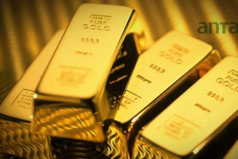 Emas Antam Turun Rp2.000 per Gram