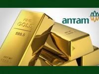 Emas Antam Turun Rp4.000 per Gram