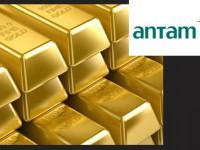 Emas Antam Akhir Pekan Naik Rp4.000 per Gram