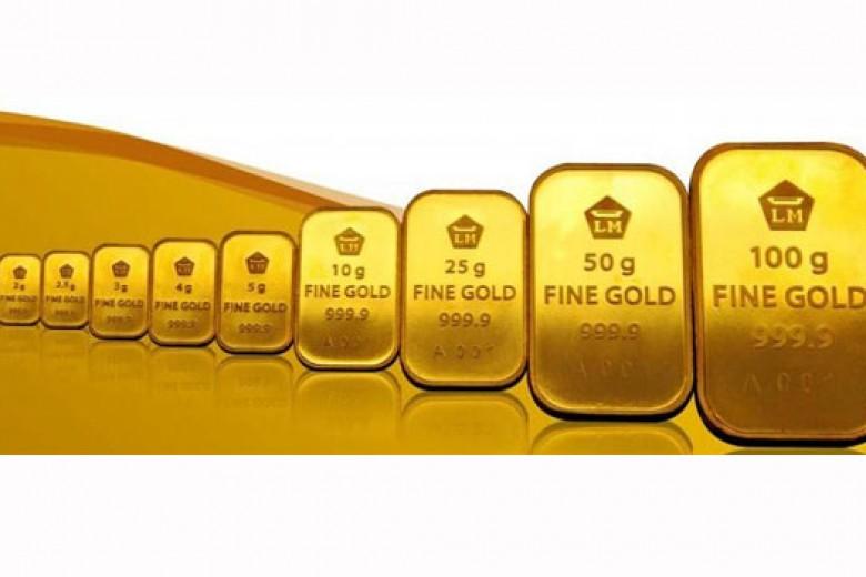 Emas Antam Selasa Turun Rp2.000 per Gram