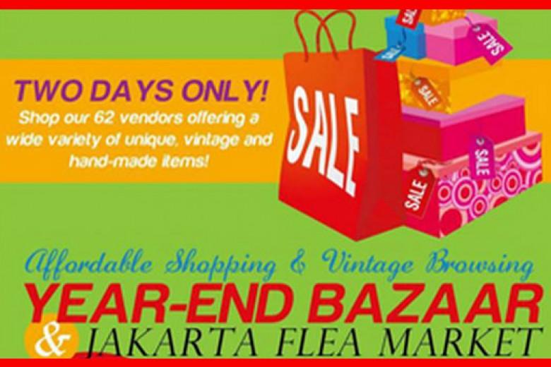 Year End Bazaar & Jakarta Flea Market