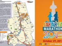 Polisi Amankan Jakarta Marathon 2013