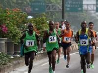 Pelari Kenya Rajai Jakarta Marathon 2013