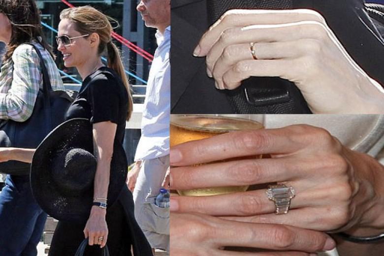 Inikah Bukti Jolie-Pitt Sudah Menikah?
