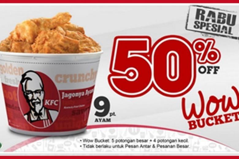 Promo Rabu Spesial KFC