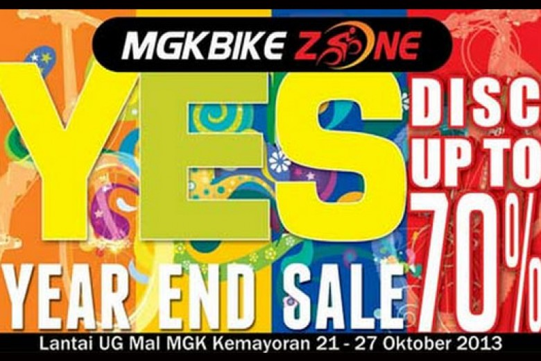 MGKBIKEZONE Year End Sale