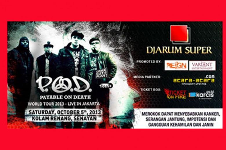 P.O.D World Tour
