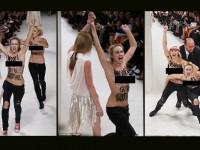 Topless, Dua Aktivis Kacaukan Show Nina Ricci