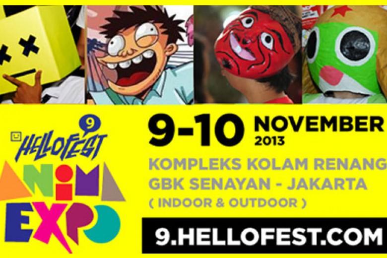 HelloFest 9 Anima Expo 2013