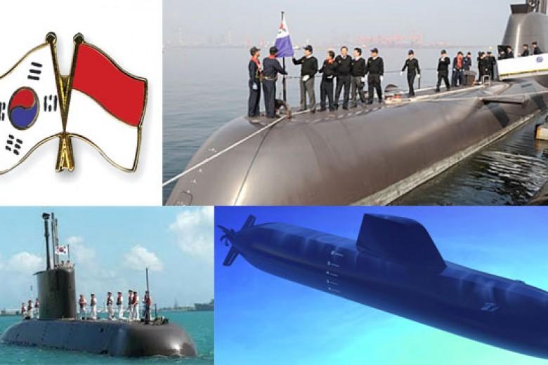 RI Akan Beli Kapal Selam Buatan Korea