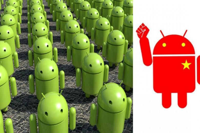 Android Raih Pangsa Pasar 3% Tiap Kuartal di Tiongkok