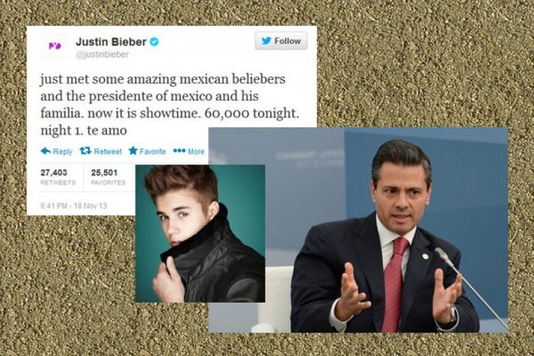 Justin Bieber Bohong Soal Meksiko