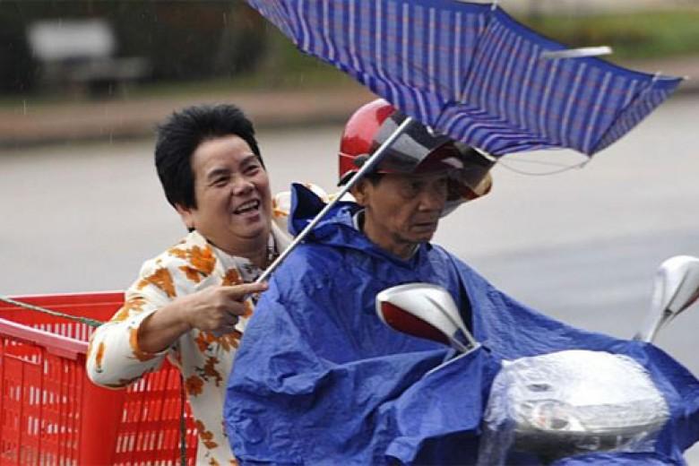 Topan Haiyan, China Umumkan Tingkat Waspada Tertinggi