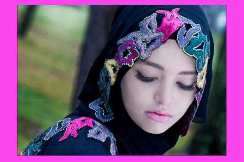 Memilih Hijab Untuk Wajah Bulat dan Dahi Lebar