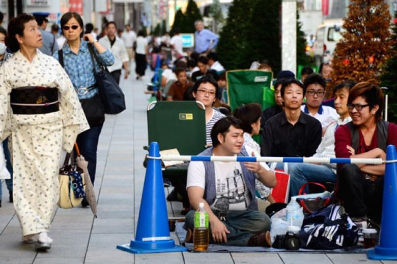 Apple Sukses Raup 76% Penjualan Ponsel di Jepang