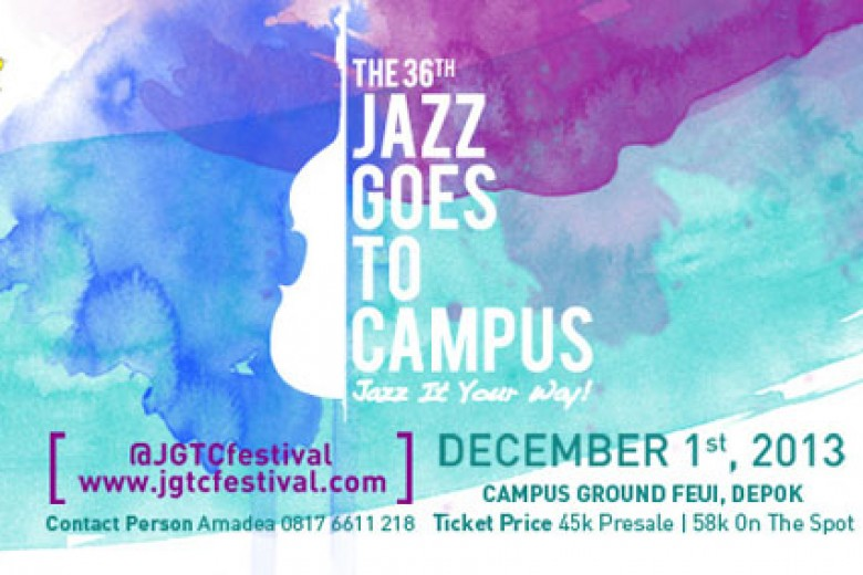 The 36th Jazz Goes To Campus Festival