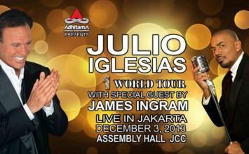 Julio Iglesias Jakarta Concert