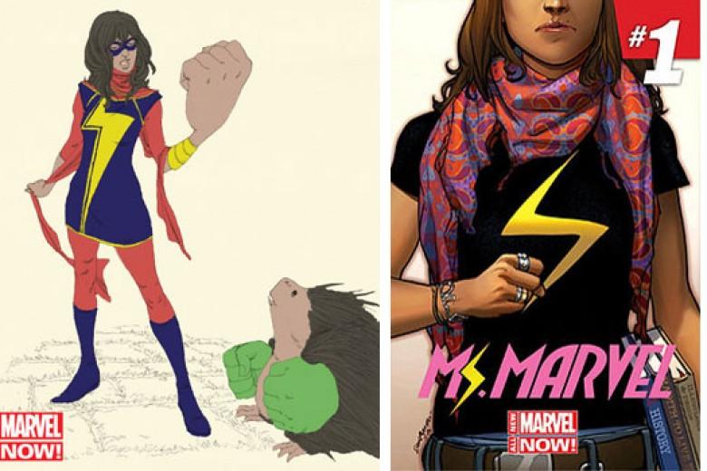 Superhero Muslimah Amerika, Kamala Khan