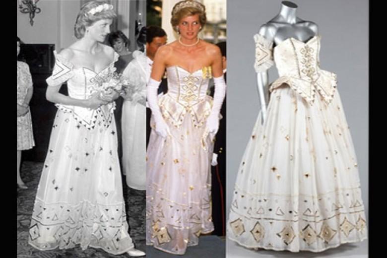 Gaun Lady Diana Siap Dilelang