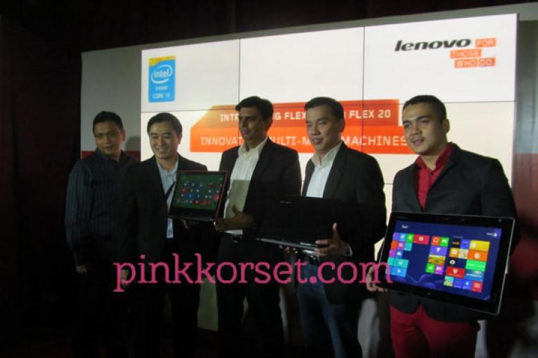 Flex 14 dan Flex 20 Andalan Terbaru Lenovo