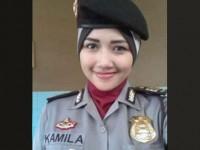 Polwan di Jakarta Mulai Kenakan Jilbab