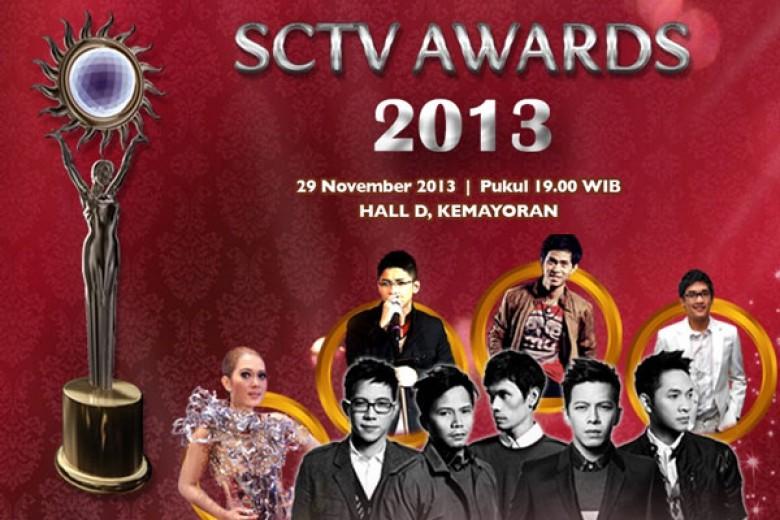 Berebut SCTV Awards 2013