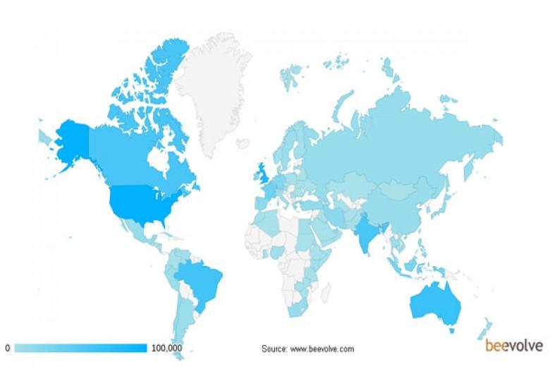 Negara Mana yang Paling Banyak 'Berkicau'?