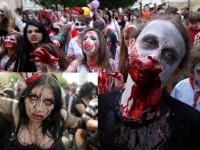 Mexico City 'Terinfeksi' Zombie