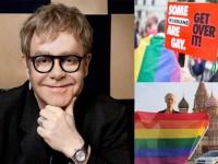 Elton John Minta Rusia Akhiri Diskriminasi