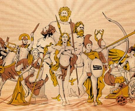 Dewa Yunani vs Dewa Romawi