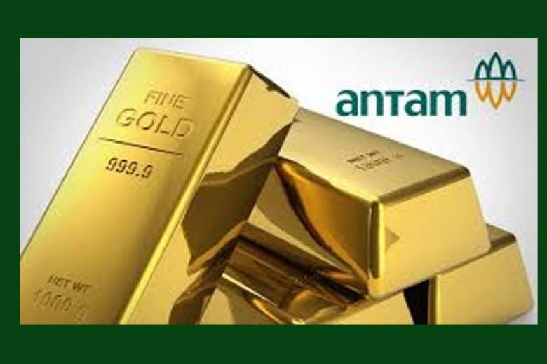 Emas Antam Turun Lagi ke Rp539Ribu/Gram