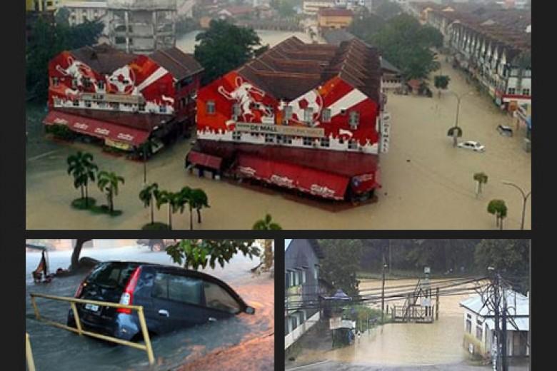 Banjir Memburuk di Malaysia