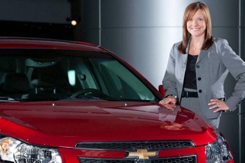 GM Pilih CEO Perempuan Pertama
