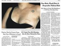 Kontroversi Foto Payudara di NY Times
