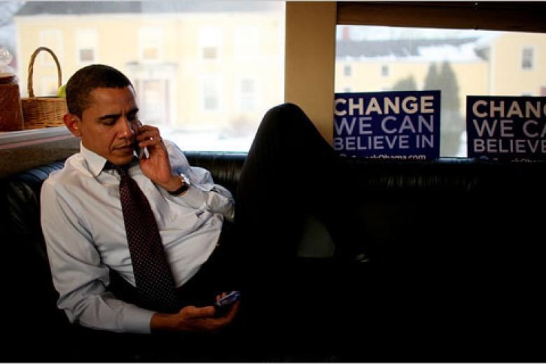 Obama: Saya Dilarang Pakai iPhone