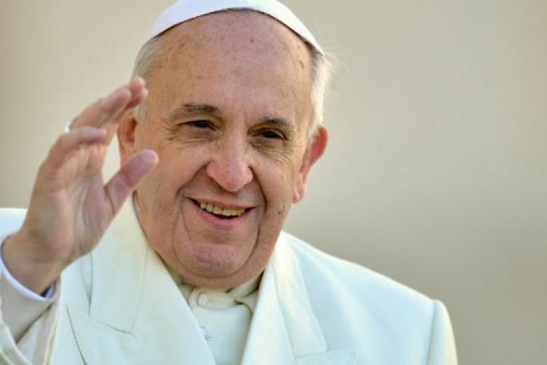 Paus Fransiskus Tokoh Tahun Ini