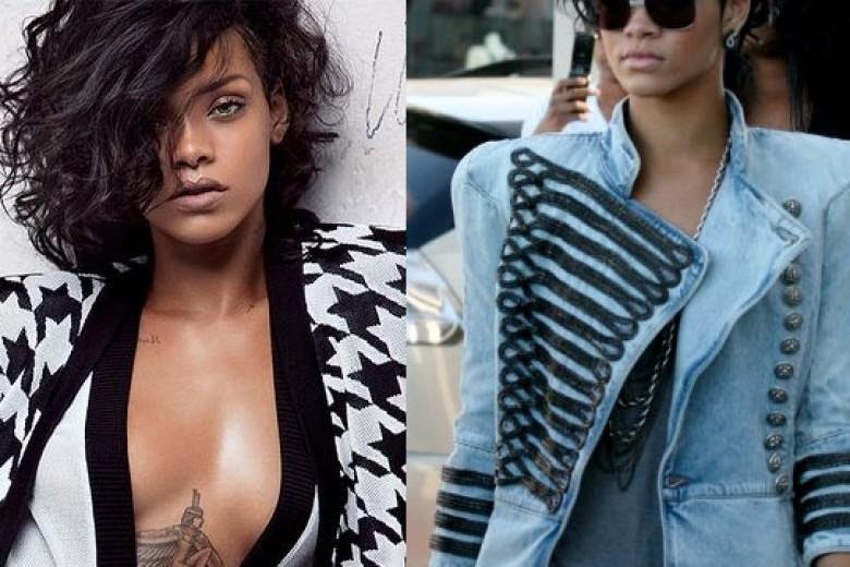 Rihanna Wajah Baru Balmain