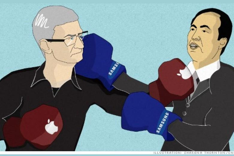 Pertempuran Apple VS Samsung Berlanjut