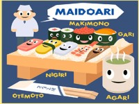 Etiket Makan di Restoran Sushi