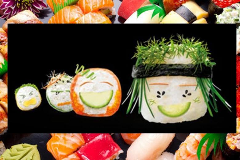 Santap Sushi Cara Sehat