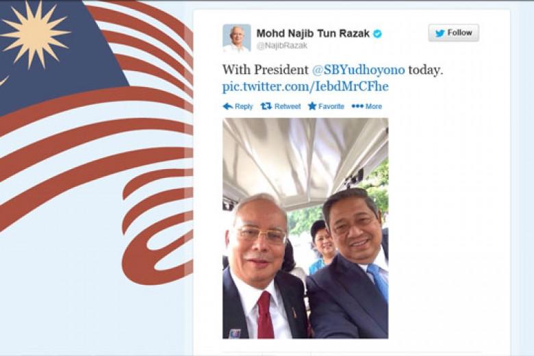 Kerennya 'Selfie' SBY & PM Malaysia