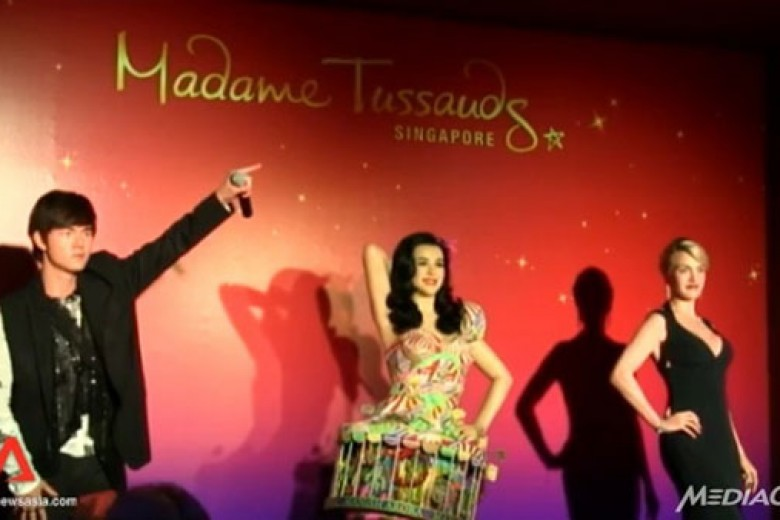 Madame Tussauds Singapura Buka 2014