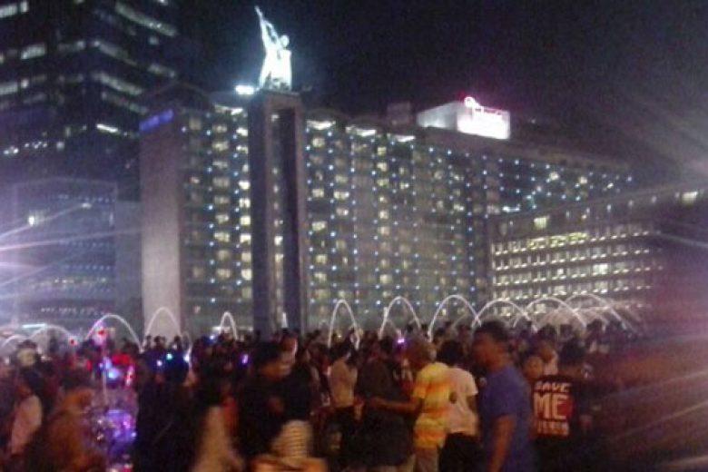 Kegembiraan Masyarakat di Jakarta Night Festival