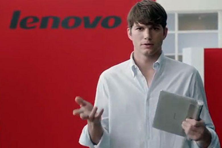 Ashton Kutcher Jadi 'Petinggi' Lenovo
