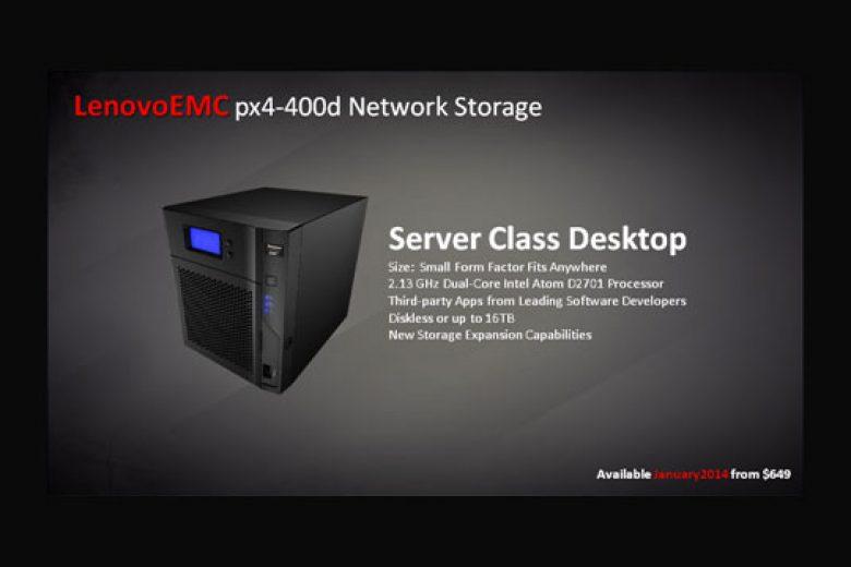 Lenovo Luncurkan Storage Jaringan di CES Las Vegas