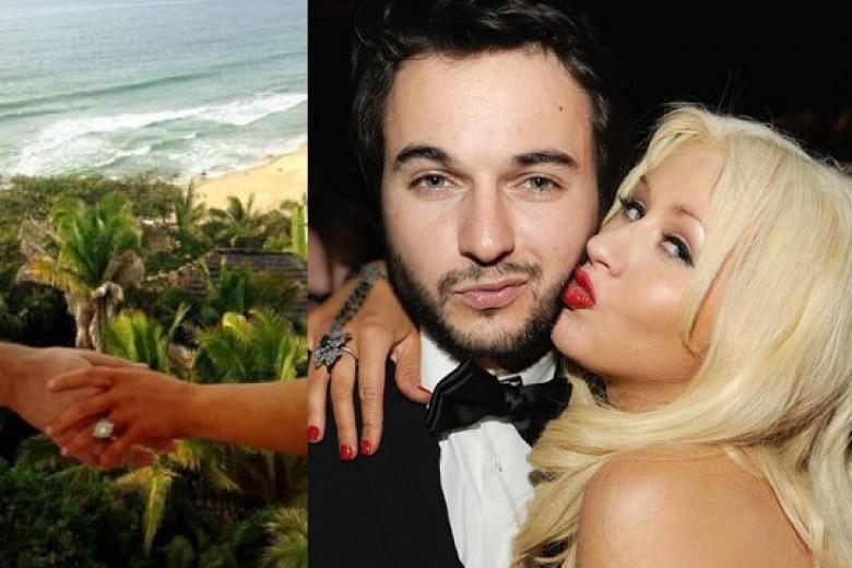Valentine, Christina Aguilera Tunangan